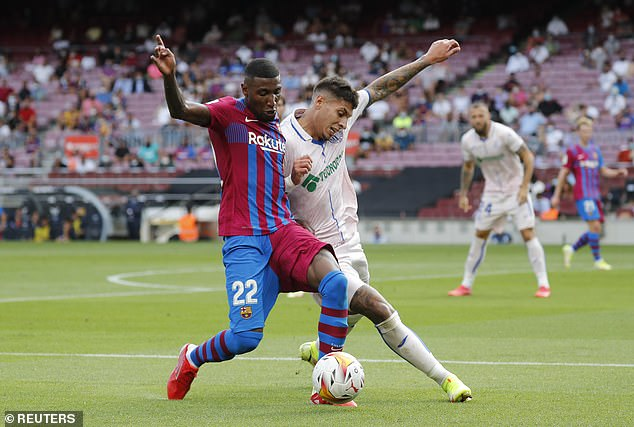 Barcelona have banked a £25.7million fee from Emerson's (left) departure to north London