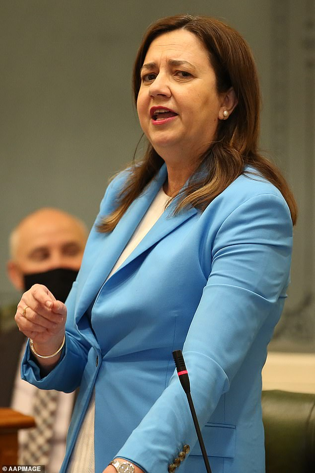 Ms Palaszczuk has previously said her personal life had fallen by the wayside as a result of her political career and the 52-year-old's busy schedule made looking for love almost impossible