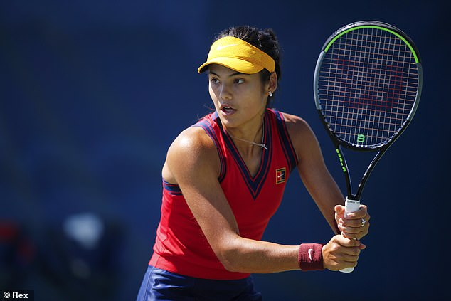 Emma Raducanu is busy analysing Sara Sorribes Tormo ahead of their US Open matchup