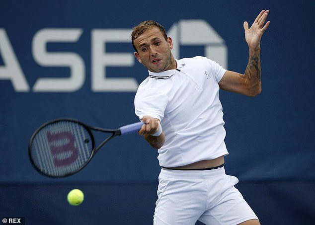 British men's No 1 Dan Evans has failed secured a place in the fourth round for the first time