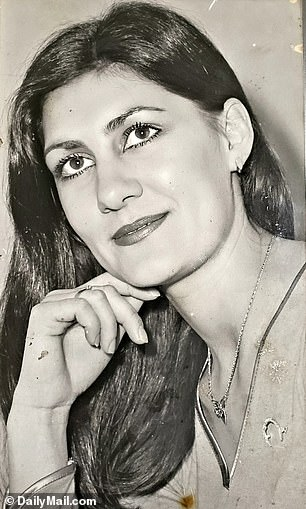 Rianavan Deventer (pictured) died aged 65 in October 2019. Shedivulged the family's great secret to her son Gerrit before her death