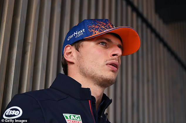 Verstappen is the sporting idol of Holland and his fans are cramming the coastal town