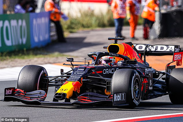 Verstappen sampled a taste of the adulation he will receive at Belgium, when the diehards stayed on through the endless drizzle to witness his 'victory' in the delayed two-lap farce
