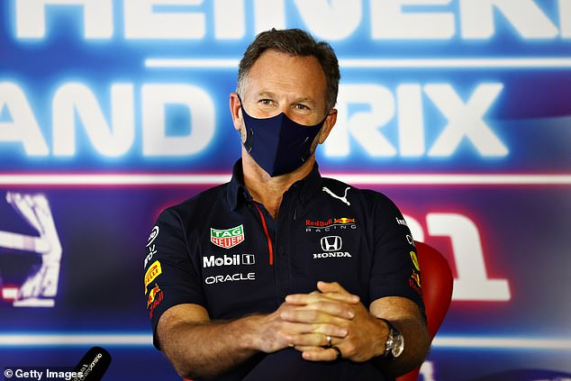 Christian Horner, his Red Bull team principal, said: 'Max keeps himself very much to himself'