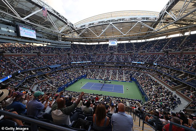 The US Open crowd roundly booed Tsitsipas throughout his five-set thriller on Arthur Ashe