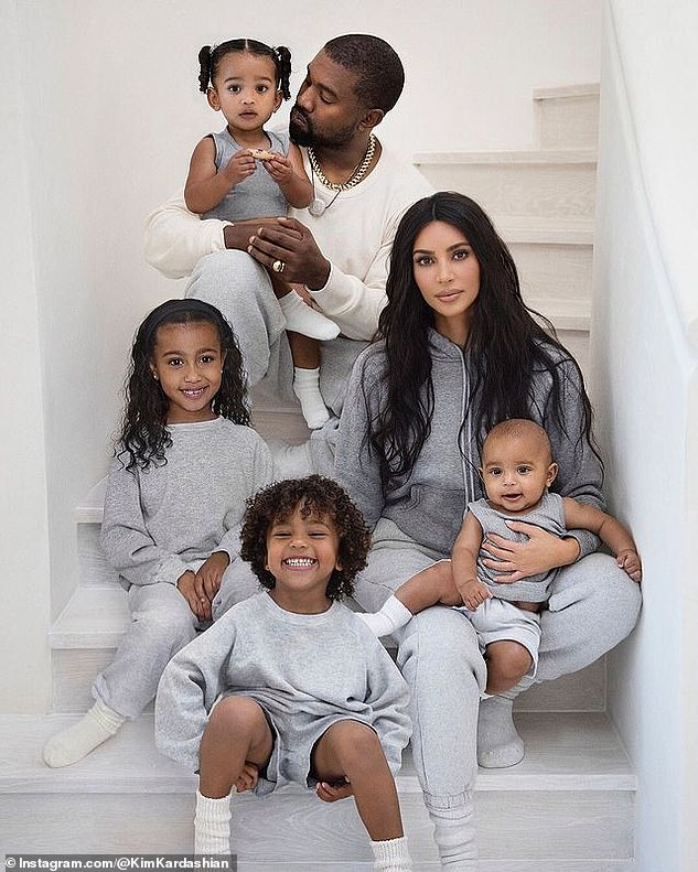 Protecting their brand:Kanye and his estranged wife Kim Kardashian have also trademarked the names of their four children, North, Saint, Chicago and Psalm West