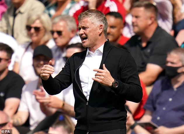 Man United manager Ole Gunnar Solskjaer admitted not all of his players had been jabbed
