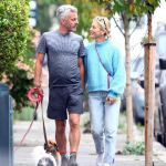 Emilia Fox strolls hand-in-hand with her new man - TV producer Jonathan Stadlen💥👩💥💥👩💥