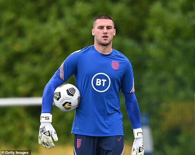 Sam Johnstone is poised for his competitive England debut against Andorra at Wembley
