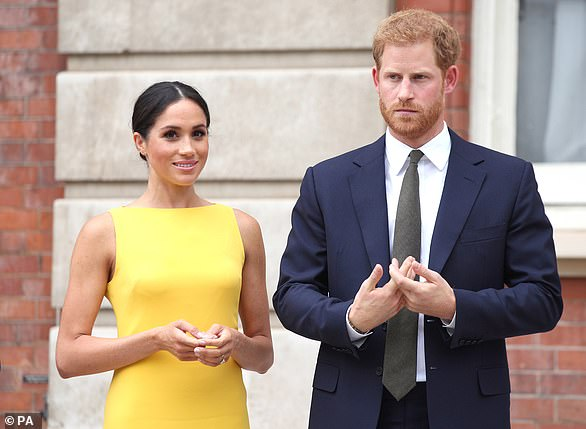 Royal aides have been left stunned by the 'sheer nerve' of Prince Harry and Meghan Markle after they asked for a meeting with the Queen