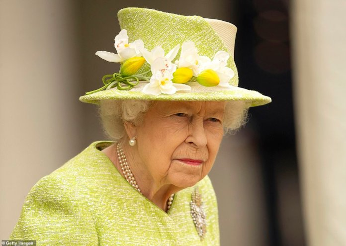 The Queen (pictured) has paid tribute to the athletes who have brought home over 100 medals from the Tokyo Paralympics and praised their 'inspirational' commitment and dedication, adding their performances have 'lifted the nation'