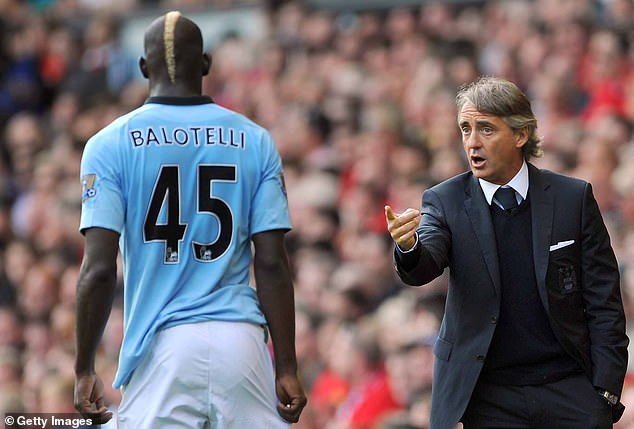 Mancini managed him at Manchester City but sold him to AC Milan after a bust-up in training