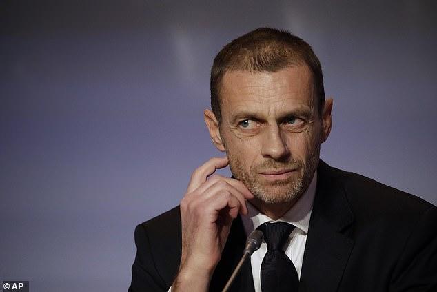 A leaked letter revealed UEFA chief Aleksander Ceferin had 'grave concerns' over FIFA plans