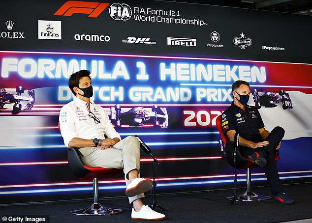 And Mercedes team boss Toto Wolff was late for a live televised press conference last week