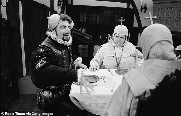It was an honour to be in Blackadder. I was in it in three extreme incarnations: as a Spanish Infanta, as Queen Victoria and as my favourite, Lady Whiteadder, the fanatical Puritan
