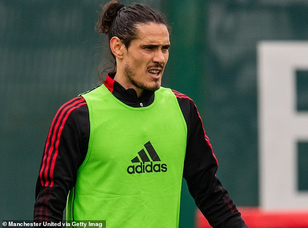 Cavani missed the start of United's Premier League campaign and was linked to Barcelona
