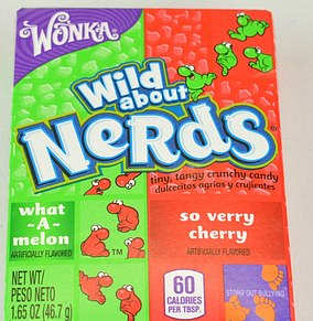 Wild about Nerds, the real children's sweets