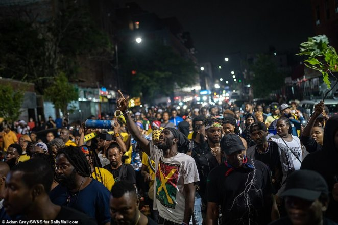 The Indian Delta variant forced New York City to cancel its official J'Ouvert festivities for the second straight year, but that didn't stop Brooklyn's Caribbean community from staging its own unofficial party before the crack of dawn on Monday