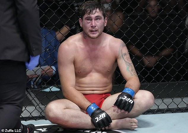 Darren Till suffered a hugely disappointing defeat by Derek Brunson in Las Vegas