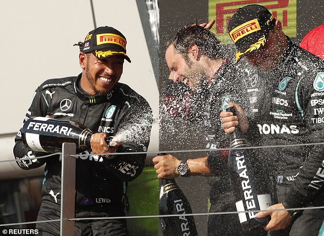Bottas and Hamilton have gone on to secure four straight Constructors' titles since he joined