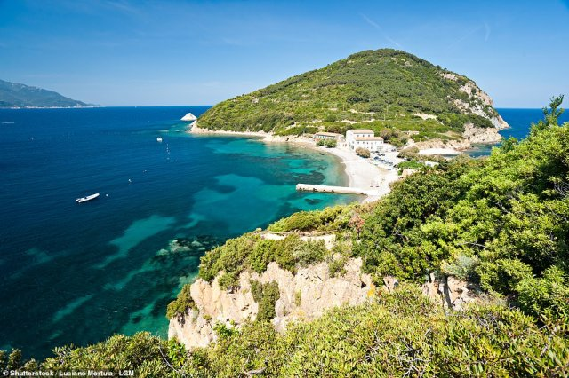 'If you can't visit Elba this year, I'm hoping that Lizzie and Dante will enchant you enough to bring you there next year – if not in the future, in your imagination,' says Mary