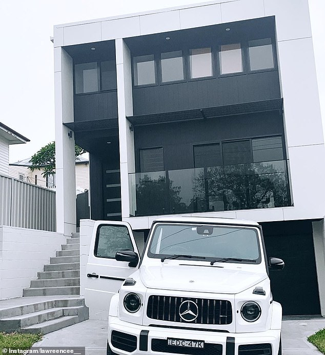 The pair are no strangers to some of the finer things in life with their own house, a Mercedes Benz G-wagon (sells for upwards of $240,000), investment property and a Lamborghini