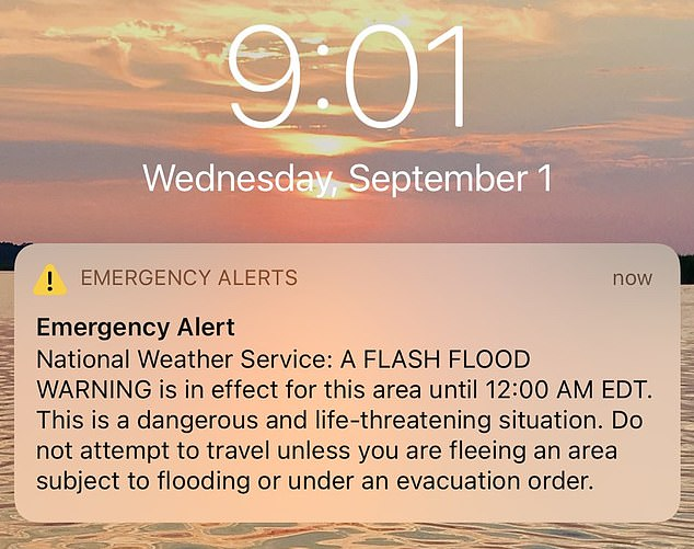 Authorities have been criticized for sending so many loud phone alerts that many people no longer take them seriously, potentially costing lives during Hurricane Ida