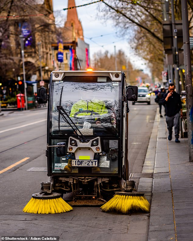 Darebin City Council has banned men from applying for a street sweeper job in a position only available for non-male identifying individuals (stock image)