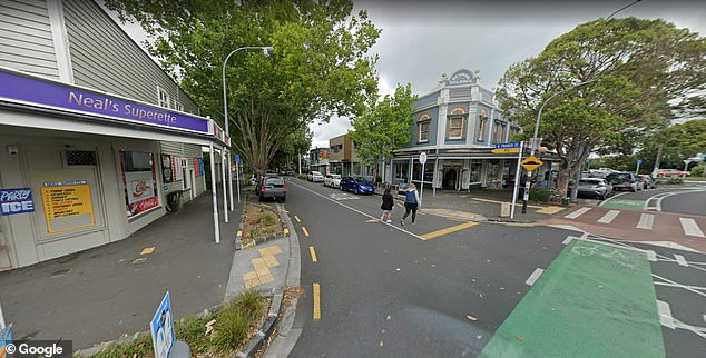 Police confirmed in a statement the incident related to reports received where two people had been assaulted on Francis Street (pictured above) before 5pm on Monday