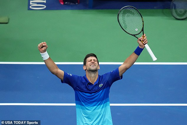 Novak Djokovic produced a stunning comeback after being hammered in the first set