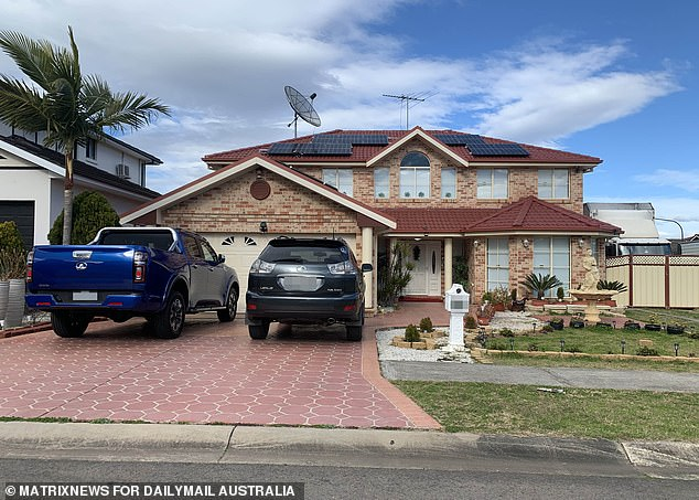 Australian property prices are set to surge by more than $75,000 in some places despite lockdowns sparking a major economic downturn (pictured is a house at Green Valley in Sydney's south-west)