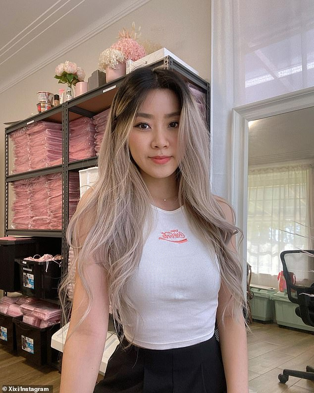 Commerce graduate Xixi Liu (pictured) launched CheekyGlo for just $1,500 in October 2020 after she was inspired by the traditional bathing rituals in Asia