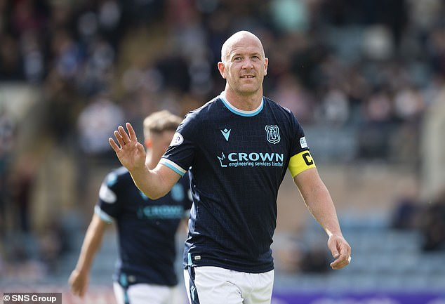 Ex-Scotland star Charlie Adam is now 35 and captaining Dundee in the Scottish Premiership