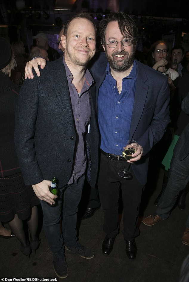 New role: Robert also revealed that he shared the news with his longtime comedy partner David Mitchell, who was 'absolutely delighted' to see him take part