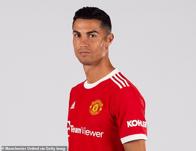 United recently released the first images of Ronaldo back in a United jersey for his second stint