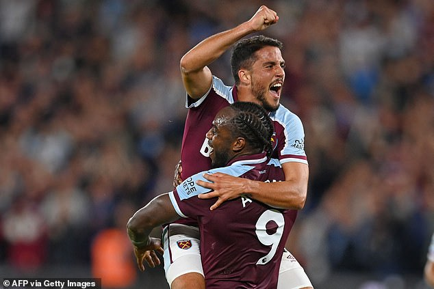 He adds that he has a 'very good understanding' with West Ham forward Michail Antonio