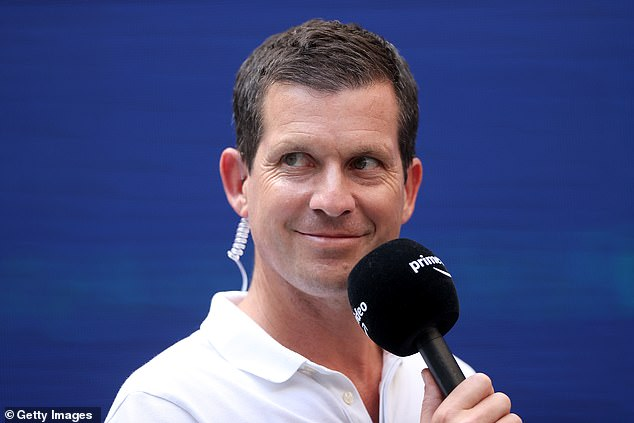 Former British No 1 Tim Henman praised Raducanu for her response to trailing Rogers early on