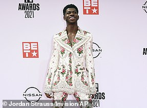 Taking a stand: Lil Nas X has been recognized in the Video For Good category forMONTERO (Call Me by Your Name)