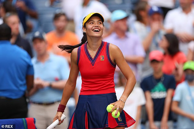 Emma Raducanu beat Shelby Rogers in straight sets to reach the fourth round at the US Open