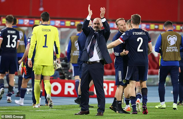 Steve Clarke's side are now in an excellent position to reach the World Cup play-offs