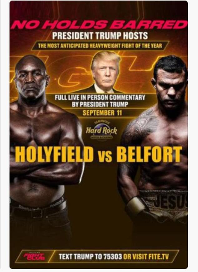 The match will take place at The Seminole Hard Rock Casino on Saturday, with boxing fans able to tune in to watch for $49.95.