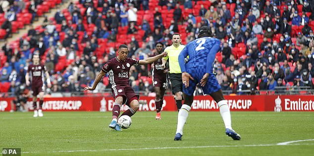 The Belgian midfielder scored the winning goal for Leicester in last season's FA Cup final win