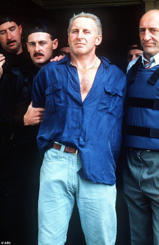 Smith was played by Tony Martin (pictured) in the ABC television series Blue Murder. The show screened in most Australian states in 1995 but was banned for years in NSW while Smith's murder charges moved through the courts. Smith said Martin was too short to play him