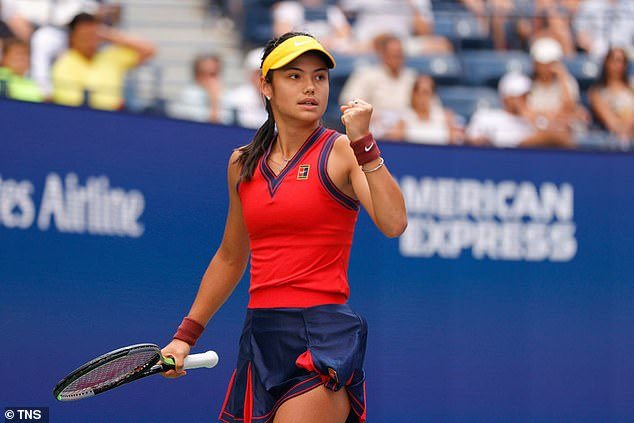 Emma Raducanu kicks off the action on Arthur Ashe this evening in her US Open quarter-final