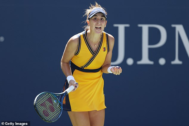 She takes on Olympic champion Belinda Bencic who has continued her fine form in New York