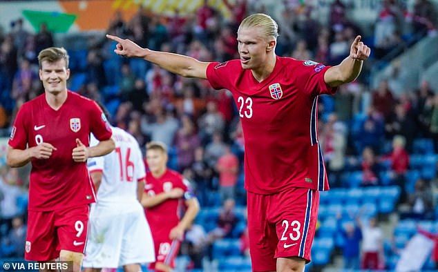 Odegaard believes Norway are 'lucky' to have Haaland as he goes from strength to strength