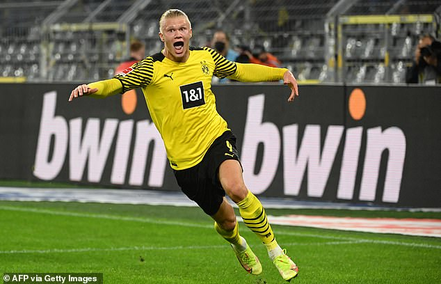 The Dortmund forward has been in sensational form for his club too, with six goals in five