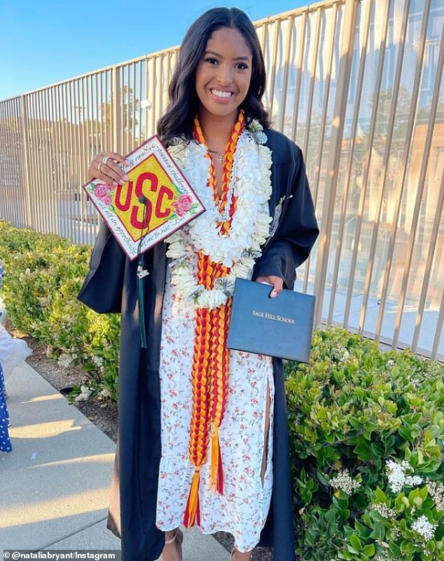 Higher education: She is now a freshman at the University of Southern California