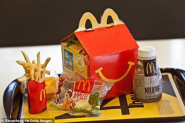 Cofiño came up with the concept for a kids meals dubbed 'Ronald Menu' that contained smaller portions for children