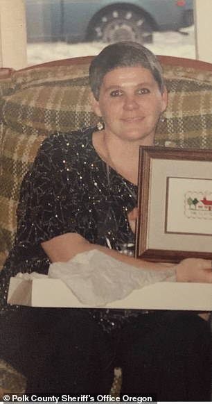 PICTURED: Kathy Thomas, whose remains were found in the rural hills of Oregon in 1996